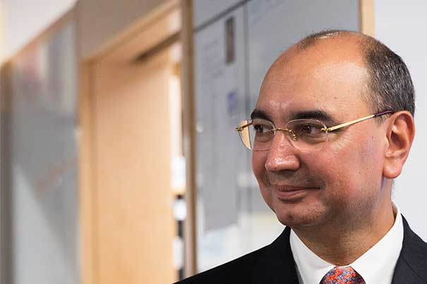 """""""We hope this contribution to science will benefit humanity greatly,"""" said Ali Ülker (pictured) of the Sabri Ülker Center for Nutrient, Genetic, and Metabolic Research, which was made possible by a $24 million gift from the Ülker family to the Harvard T.H. Chan School of Public Health."""