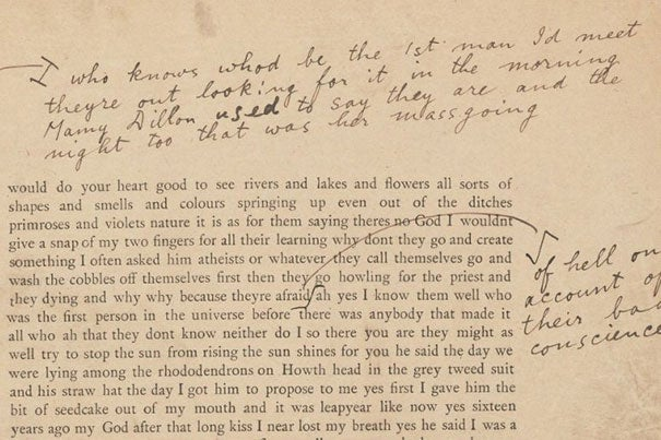"James Joyce's ""Ulysses"" revisions"