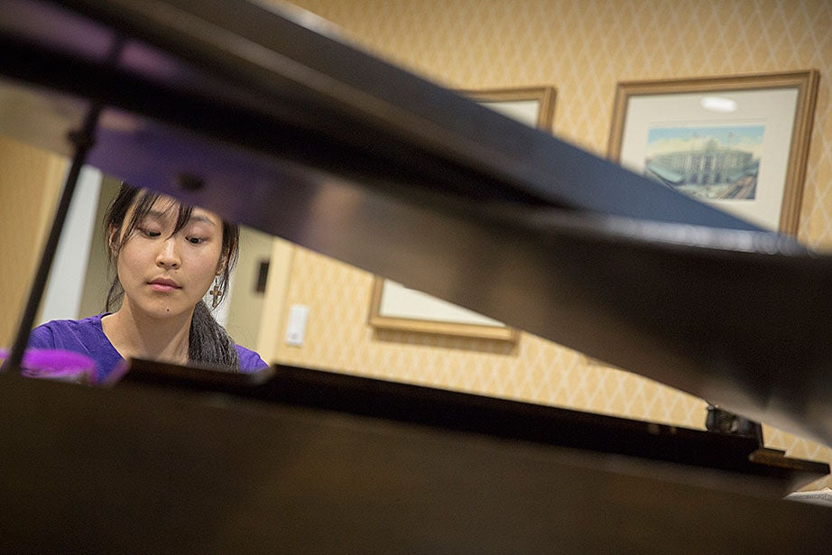 """The performing arts have the power to lift the ordinary to the extraordinary, to make hearts beat faster and spirits fly,"" said pianist Jennifer Tu '16."