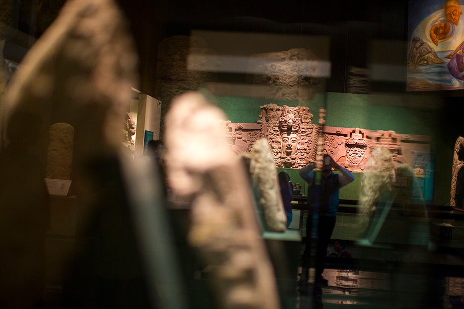 The Museo Nacional de Antropología. Stephanie Mitchell/Harvard Staff Photographer