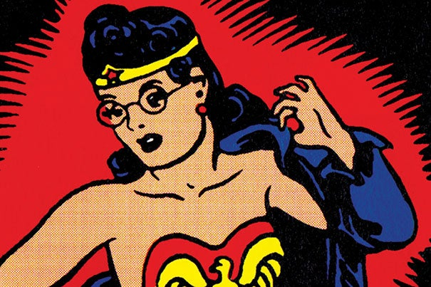 Jill Lepore's latest book peels back the curtain on the history of the most famous female superhero Wonder Woman, created in 1941 by Harvard graduate William Moulton Marston.