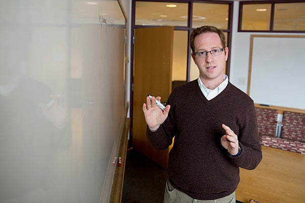 A new study on handedness from Harvard Kennedy School Assistant Professor Joshua Goodman suggests that newborns with complicated births are more likely to end up left-handed. Additionally, the study shows that lefties are edged out by their right-handed counterparts when it comes to starting and finishing college, career development, and annual earnings.