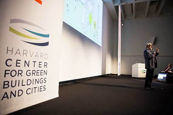 Official opening of The Center for Green Building and Cities, hosted by the GSD.