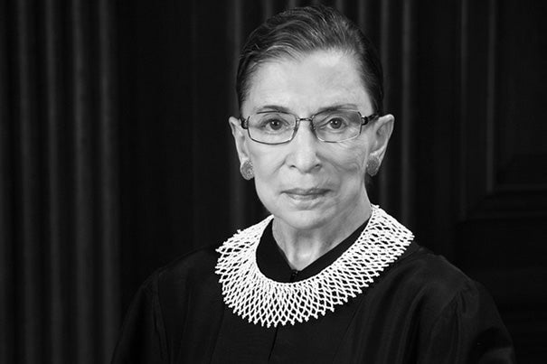 Associate Supreme Court Justice Ruth Bader Ginsburg has been named this year's recipient of the Radcliffe Medal, which is presented in May.