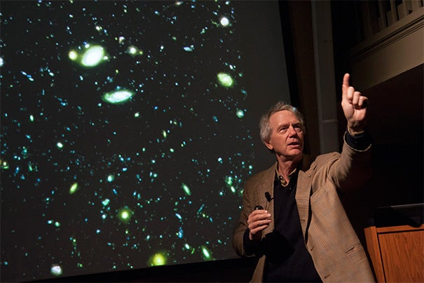 """The Wolf Prize in Physics was awarded to Clowes Professor of Science Robert P. Kirshner. It is an international award presented by the Wolf Foundation to living scientists and artists for """"achievements in the interest of mankind and friendly relations among people."""""""