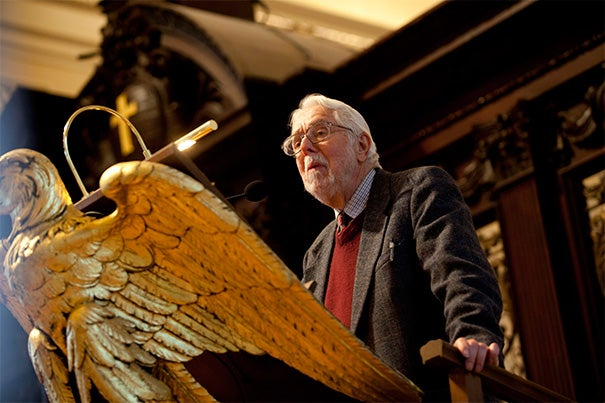 "Professor Harvey Cox (pictured) first met Martin Luther King Jr. in the late 1950s. ""It turned out that we were born the same year, we were both Baptist ministers, we both had a strong interest in the theologian Paul Tillich,"" Cox recalled. ""So we formed a kind of a friendship that continued."" In the 1960s, when Cox was a Harvard doctoral student, King asked him to create a Boston branch of the Southern Christian Leadership Conference."