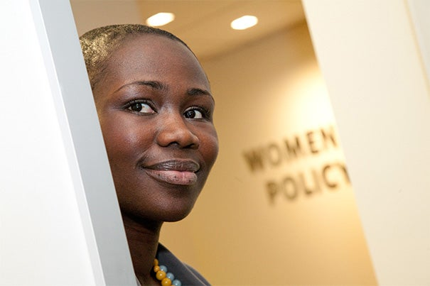 """The center is an incredible resource in the College's exploration of women and gender, vital areas of inquiry for both the Harvard community and the world"" said Naisha Bradley, the new director of the Harvard College Women's Center."