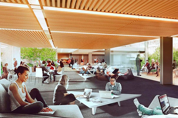 Design concepts for Harvard's Richard A. and Susan F. Smith Campus Center were recently unveiled. The concepts grew out of an extensive process of engaging students, faculty, and staff about their visions for the future of the building at the heart of Harvard's campus, particularly as plans for Allston come to fruition.