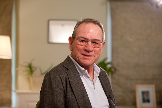 4.Harvard Arts Medalist, actor, Tommy Lee Jones visited the 20th Arts First Festival and was videotaped in Massachusetts Hall at Harvard University.