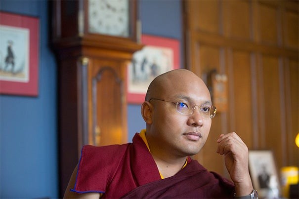 His Holiness the 17th Gyalwang Karmapa, who leads the 900-year-old Karma Kagyu school of Tibetan Buddhism, guiding millions of Buddhists around the world, came to Harvard this past week.