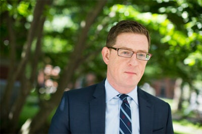 "Paul Andrew, who joined Harvard in 2012, has been named the University's vice president for public affairs and communications. ""Since arriving at Harvard, I have been — and continue to be — inspired by Harvard's faculty, students, and staff and their deep commitment to the teaching and research mission of the University,"" Andrew said."