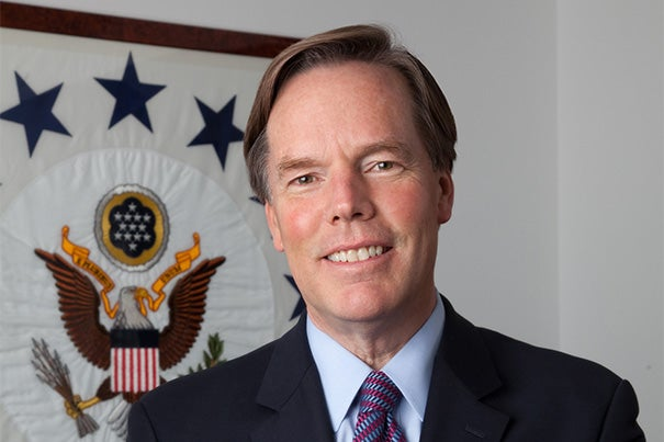 """""""It's about the most complex, difficult, and challenging policy environment that I've seen in 30 years in the Middle East,"""" said former ambassador Nicholas Burns, the professor of the practice of diplomacy and international politics at Harvard Kennedy School, who served as undersecretary of state for political affairs from 2005 to 2008."""