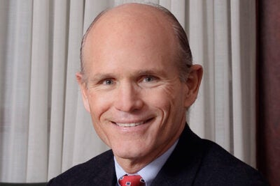 Thomas J. Hollister, who has a 35-year career in banking and global financial management, has been named Harvard's chief financial officer and vice president for finance.