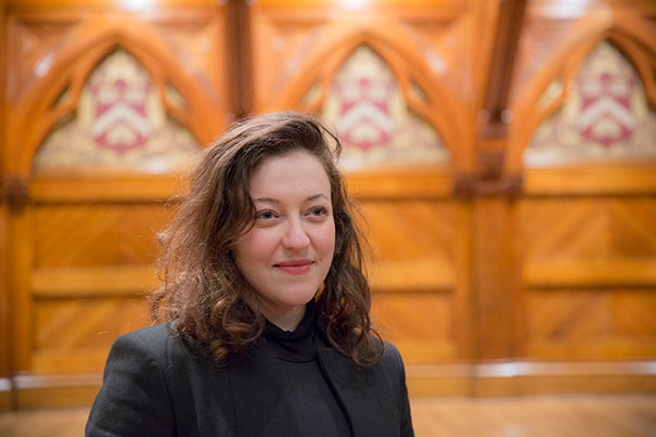 Guila Clara Kessous, a postdoctoral fellow at the Divinity School, will direct the world premiere of a play Elie Wiesel wrote about 20 years after his experiences in Nazi concentration camps.
