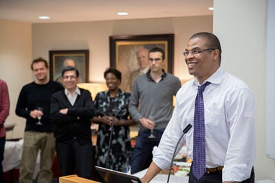 The Harvard Economics Department celebrates Roland Fryer, Henry Lee Professor of Economics, who was awarded the John Bates Clark Medal for his pioneering research on the economics of race and education.