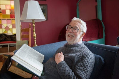 """""""I know of course that there are those who ask, 'Why should I read it anyway?'"""" said Hollis Research Professor of Divinity Emeritus Harvey Cox. """"My answer is it that if you don't know something about what's in the Bible, you are not a fully educated person. It informs our literature, our poetry, films, plays, and, whether we like it or not, it has deeply influenced the history and value structure of our whole civilization."""""""