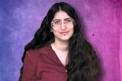 "In delivering the annual Nicholas Papadopoulos Lecture, activist and writer Shiri Eisner said that society is afraid of bisexuality because many people think bi people are really gay or can choose to be either gay or straight, are confused or going through a phase, are promiscuous, or are carriers of sexual diseases. Eisner is the author of ""Bi: Notes for a Bisexual Revolution."""