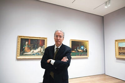 """""""I've been here for almost 12 years and I think this is a natural time to step down,"""" said Thomas W. Lentz, the outgoing Elizabeth and John Moors Cabot Director of the Harvard Art Museums. """"What I want to do is take a deep breath for a while."""""""