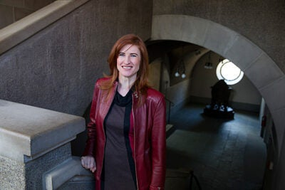 Students in visiting scholar Stella Ghervas' Extension School course will get a novel view of Europe: that its history is more about making peace than it is about making war.