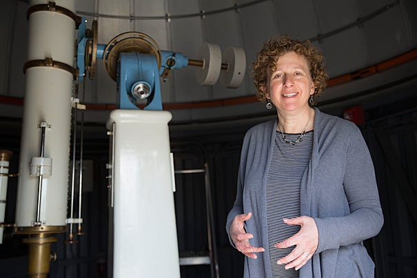 "Alyssa Goodman, professor of astronomy at Harvard University, will discuss the race to determine longitude in the 18th century in a Thursday talk titled ""Lost Without Longitude."""