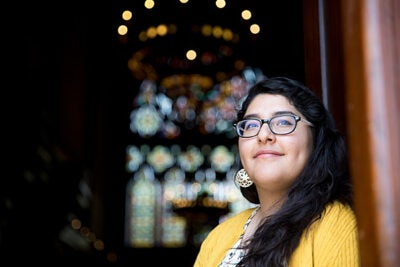"A self-described ""nerd,"" Veronica Gloria said that even at a young age she knew she wanted to be a bridge between minority and immigrant communities and the rest of society. ""I thought, how can we understand each other, and how can we move together toward justice?"""