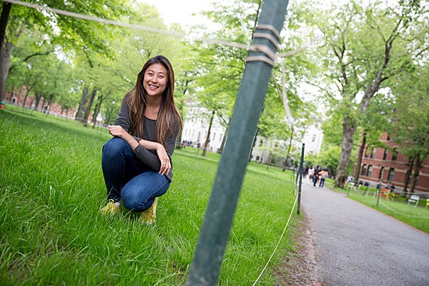 Graduating senior Samantha Noh '15 spent her undergraduate years looking for buried treasure in Harvard Yard: a sherd of a drinking vessel, a shard of a wine glass, or an embossed brass button — all remnants of Harvard's Indian College.