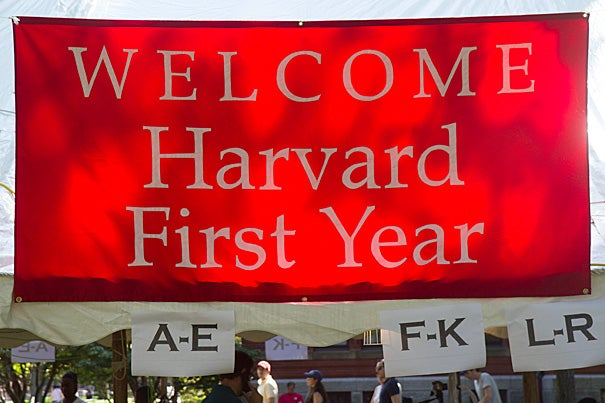 """In the face of record-setting snowfall this year, enrollment projections were challenging. Nevertheless, a number of factors led to the high yield, including Harvard's robust financial aid program, which once again made it possible for many of the nation's and the world's best students to choose to come to Harvard,"" said William R. Fitzsimmons, dean of admissions and financial aid."