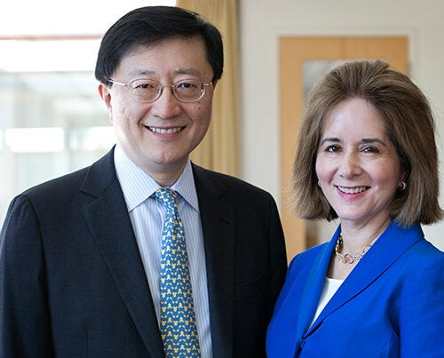 Incoming HAA President Paul L. Choi '86, J.D. '89, a longtime Harvard volunteer, an active member of Harvard Law School alumni organizations, and former president of the Harvard Club of Chicago, is taking over after the leadership of Cynthia A. Torres '80, M.B.A. '84.
