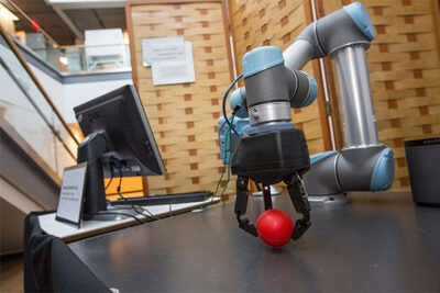 Professor Robert Howe's research team realized their robotic grasper could have an even wider reach beyond the lab, streamlining tasks in logistics, distribution, or manufacturing.