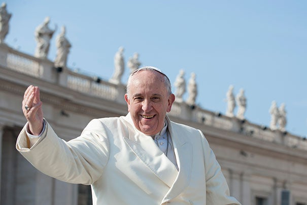 "Pope Francis has again displayed his activist side by delivering a papal encyclical, a formal letter to the world's Catholic community, titled ""Laudato Si"" or ""Praise Be to You,"" which addressed issues involving climate change and the poor."