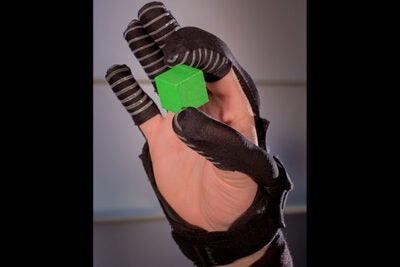 The soft robotic glove could help patients suffering from muscular dystrophy, amyotrophic lateral sclerosis, incomplete spinal cord injury, or other hand impairments regain some independence and control of their environment.