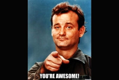Actor Bill Murray's sarcastic style of humor has made him a favorite subject of Internet memes. New research from Harvard Business School's Francesca Gino and colleagues finds that sarcasm can boost creativity in those dishing it out and in those on its receiving end.