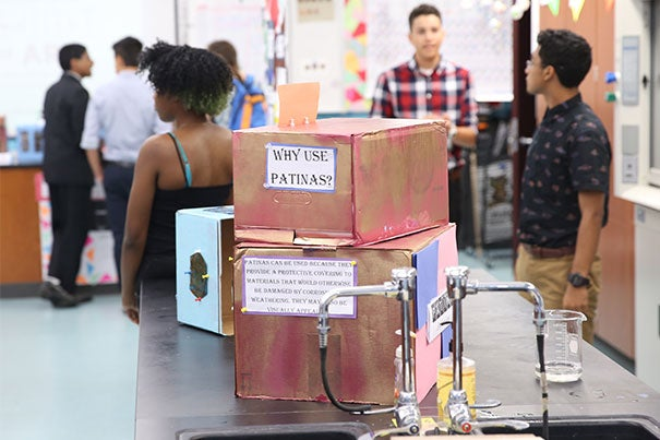 Students at the Cambridge-Harvard Summer Academy recently completed five weeks of summer enrichment, capped with an exhibition that showcased projects ranging from the mathematics of social justice to polynomial roller coasters, from autobiographical demonstrations to identity development.