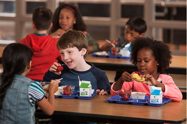 """""""We were surprised by some of the results because I expected that with less time children may quickly eat their entrée and drink their milk but throw away all of their fruits and vegetables. Not so,"""" said Eric Rimm, professor of epidemiology and nutrition at Harvard Chan School and the study's senior author."""
