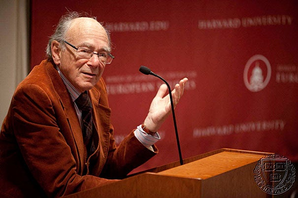 """After hiding from the Nazis as a young boy, Paul and Catherine Buttenwieser University Professor Emeritus Stanley Hoffmann wrote: """"It wasn't I who chose to study world politics. World politics forced themselves on me at a very early age."""""""
