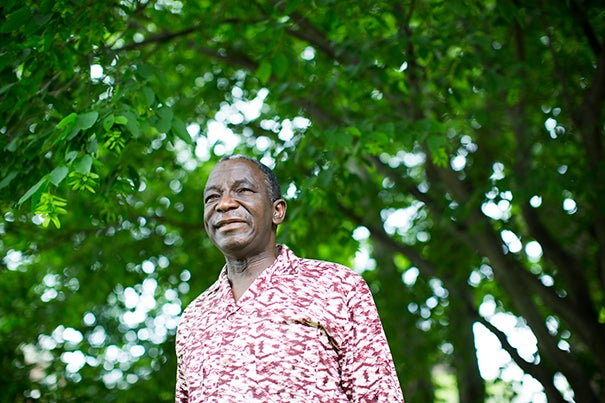 "Jacob Olupona, professor of indigenous African religions at Harvard Divinity School and professor of African and African-American studies in Harvard's Faculty of Arts and Sciences, recently sat down for an interview about his lifelong research on indigenous African religions. ""The success of Christianity and Islam on the African continent in the last 100 years has been extraordinary, but it has been, unfortunately, at the expense of African indigenous religions,"" said Olupona."