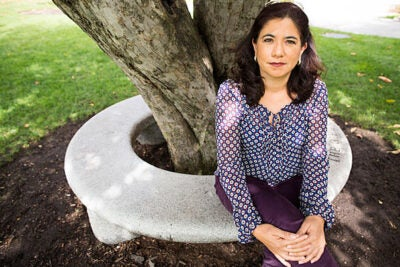 In Cambridge, as part of Harvard's Scholar at Risk chapter, former appellate judge Claudia Escobar will use her experience in her home country of Guatemala as a case study for a research project that explores how corruption is directly linked to lack of judicial independence.