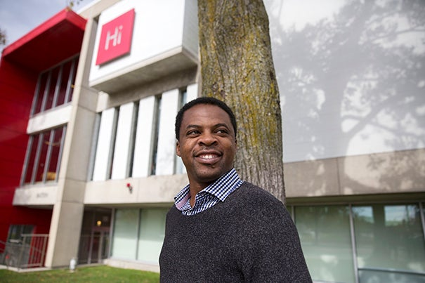Kennedy School student Andy Agaba has created a startup that he hopes will translate coffee's popularity into support for African farmers.