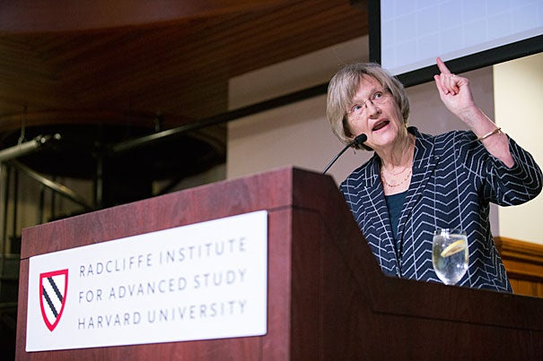 """University presidents, college deans, architects, academic administrators, and students arrived at Harvard at the invitation of President Drew Faust to learn, to consider, and to share ideas about """"Building the Research University of the 21st Century."""""""
