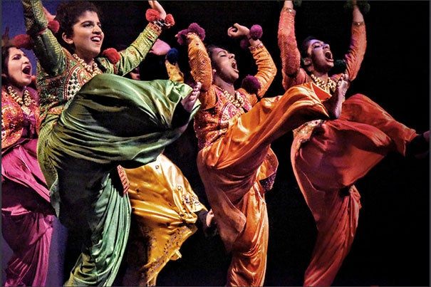 Karisma celebrates South Asian culture by bringing together bhangra, Indian classical dance, and other performance groups on the college and high school level.