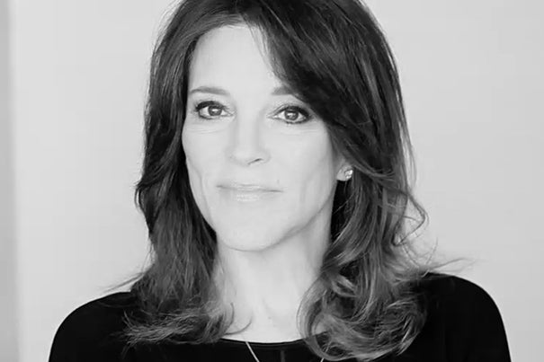 """We are imperiling the future of life on Earth due to the absence of ethics,"" said Marianne Williamson, author of ""A Return to Love."" Williamson will speak at Harvard Divinity School Wednesday."