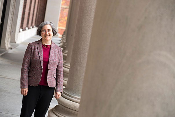 """""""Ann Blair's extraordinary scholarship and teaching illuminate timeless questions and historical practices at the very heart of what scholars do and why what they do matters to the world,"""" said Harvard President Drew Faust."""