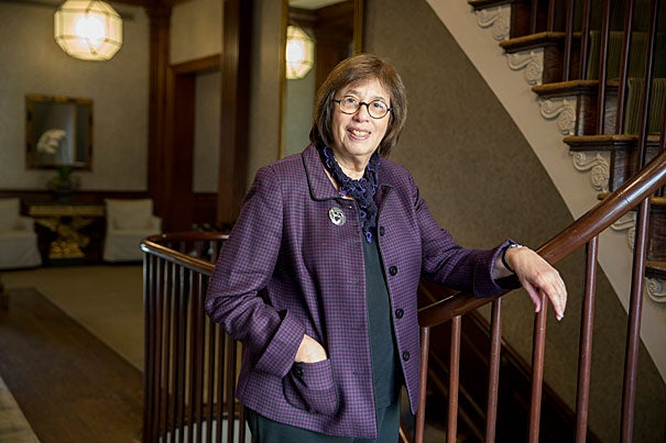 """Linda Greenhouse: """"My opinion is my opinion, but I try to back it up with facts. You're entitled to your opinion but not to your own facts."""""""