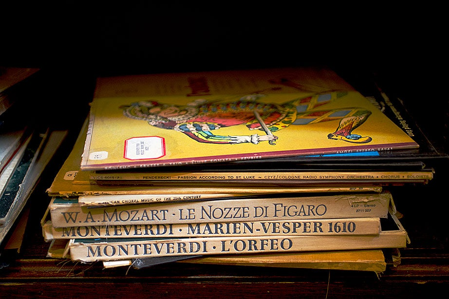 Records are available for borrowing at Adams House library.
