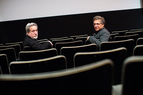 """Containment,"" co-directed by Harvard's Robb Moss (left) and Peter Galison, focuses on two nuclear containment facilities in Florida and New Mexico."
