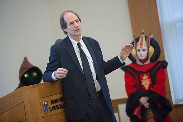 "Cass Sunstein, the Robert Walmsley University Professor, said that ""Star Wars"" was a seminal source of inspiration in his life and career."