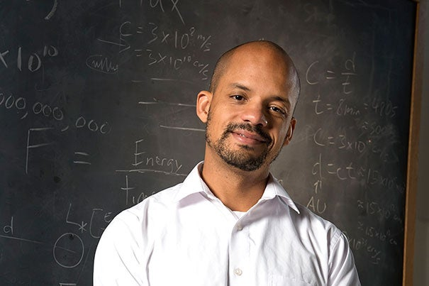 Harvard professor John Johnson (pictured) is one of two recipients of the Fannie Cox Prize, which recognizes exceptional teaching in introductory science courses. The other winner is Jene Golovchenko, Rumford Professor of Physics and Gordon McKay Professor of Applied Physics.