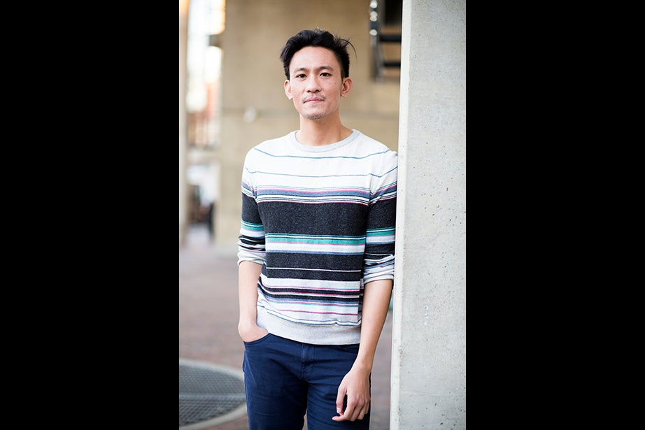 """""""Wear whatever you feel like, but if you have to look nice before a review on 45 minutes of sleep, tuck your shirt in, and always brush your teeth,"""" said student Giancarlo Montano. Style icon: """"Texas. Does that count? I've always liked a comfy flannel tucked into jeans. On the other hand, I've always thought Marcello Mastroianni was the gold standard for cool. I feel like I aspire to fall somewhere in between ..."""" Listening to: Shamir Fashion philosophy: """"Wear whatever you feel like, but if you have to look nice before a review on 45 minutes of sleep, tuck your shirt in, and always brush your teeth."""""""