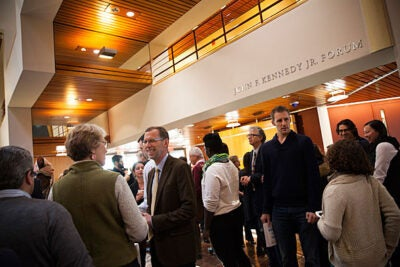 Students, faculty, and staff returned to Harvard Kennedy School this month to welcome the arrival of a new dean, Douglas W. Elmendorf, A.M. '85, Ph.D. '89.