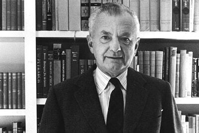 Walter Kaiser, Harvard's Francis Lee Higginson Professor of English Literature and Professor of Comparative Literature Emeritus